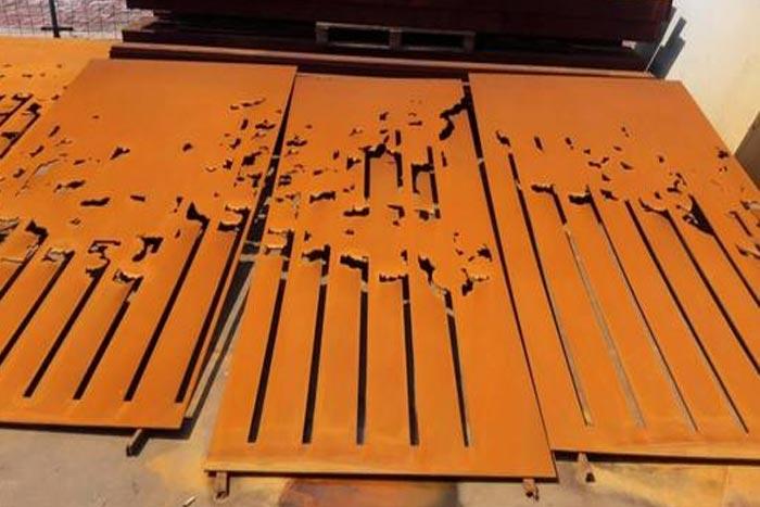 耐候钢的生锈原理和锈化处理